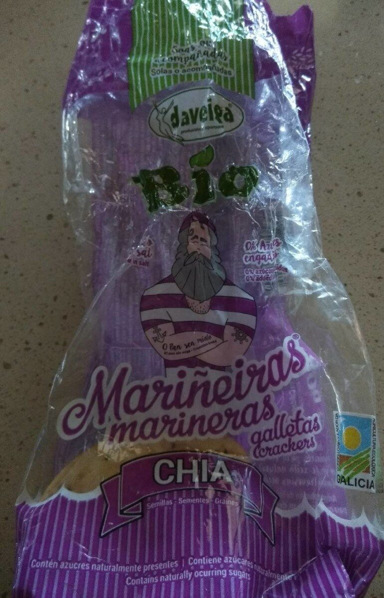 Mariñeiras galletas crackers - Producto - es