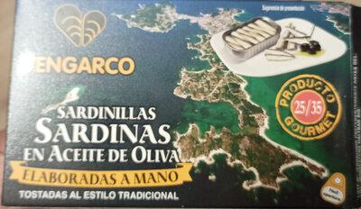 Sardinillas en aceite de oliva - Informació nutricional - es