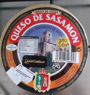 Queso de oveja Sasamon - Product - es