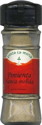 Pimienta blanca molida - Product - es