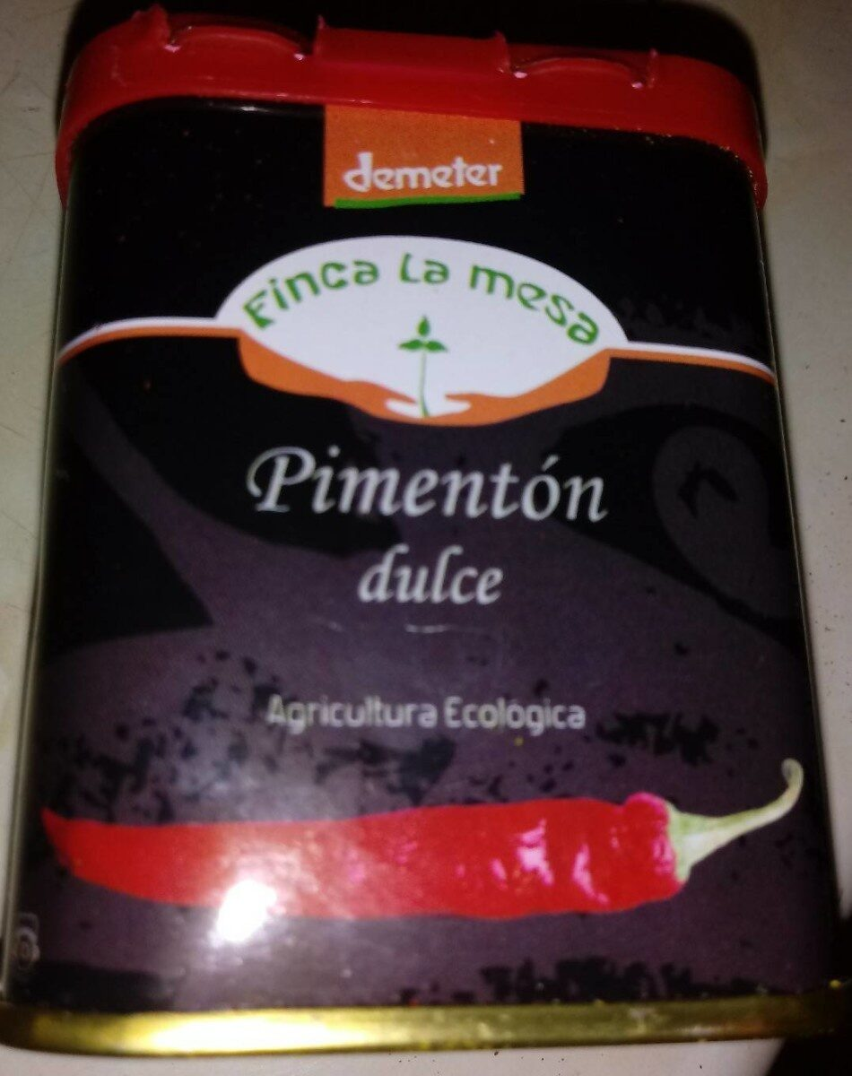 Pimentón dulce - Product