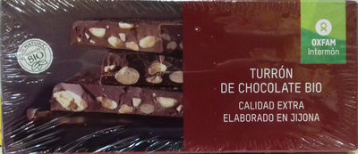 Turrón de chocolate bio - Producte