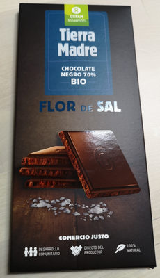 Chocolate negro 70% sal bio - Product