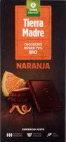 Chocolate Negro 70% BIO Naranja - Producte