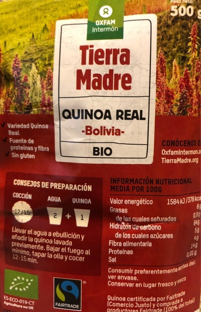 Quinoa Real - Producto - es