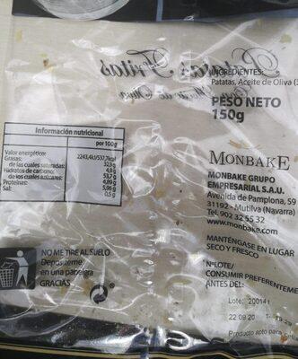 Patatas fritas aceite oliva - Producto