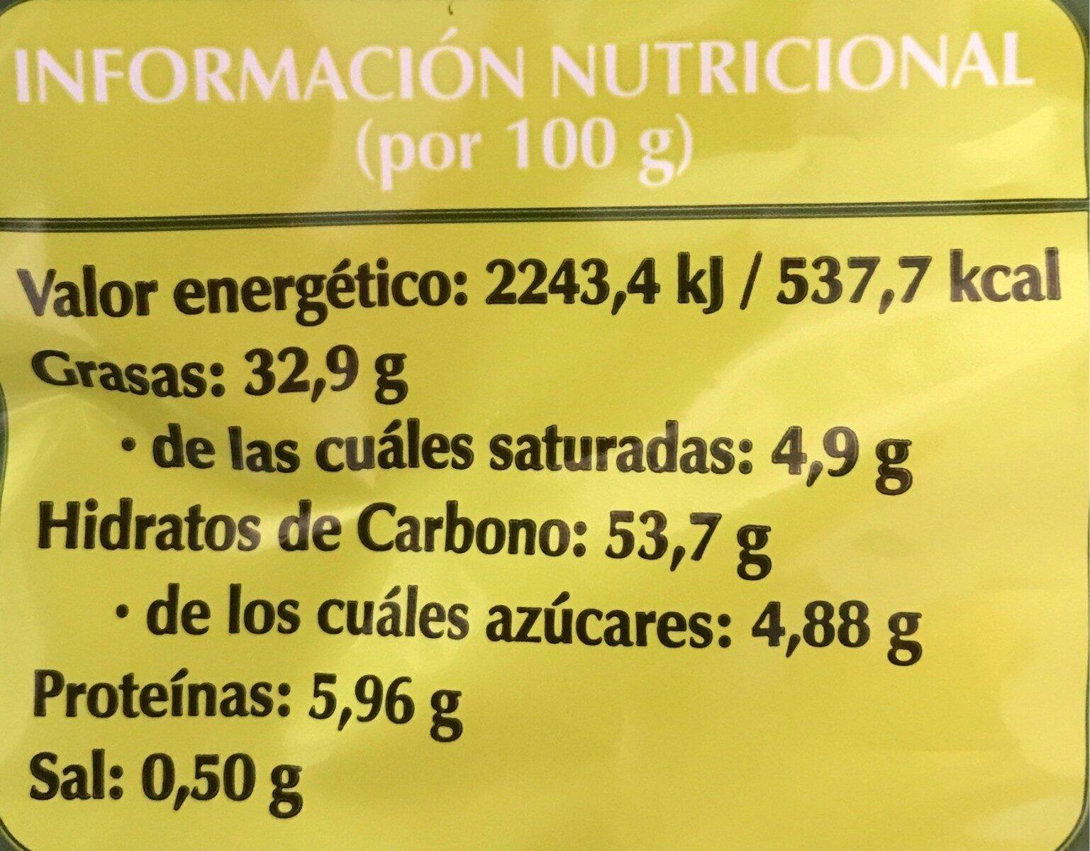 Patatas fritas aceite oliva - Nutrition facts - es