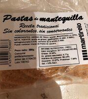 Pastas de mantequilla - Producto