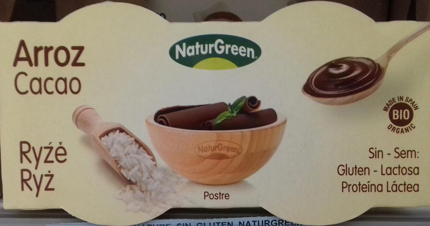 Yogurt de Arroz Cacao - Product - es