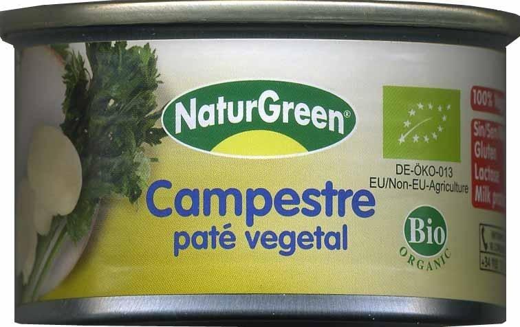 """Paté vegetal ecológico """"NaturGreen"""" Campestre - Producte - es"""