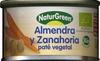 "Paté vegetal ecológico ""NaturGreen"" Almendra y zanahoria - Producte"