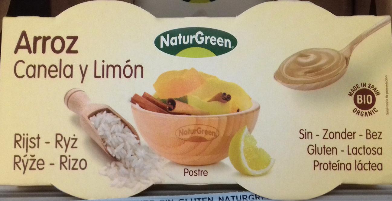Postre de arroz Canela y limón - Producto - es