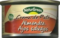 Crema de paté almendra y ajos salvajes - Product