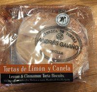 Tortas De Canela Y Limon - Product - fr