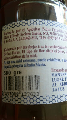 Miel azahar - Ingredients - fr