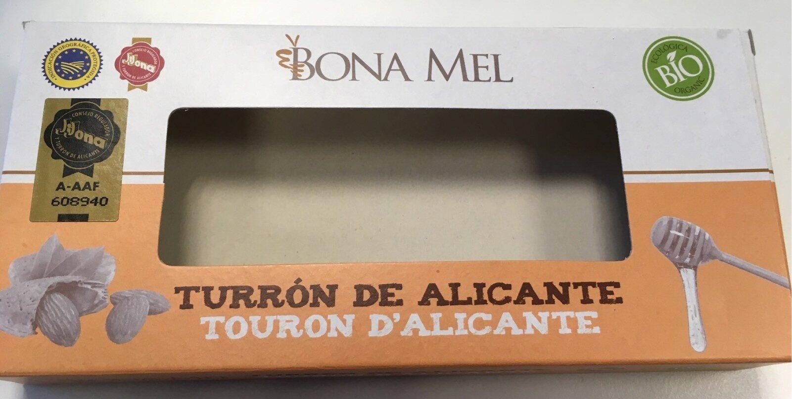 Turrón de Alicante ecologico - Produit - es