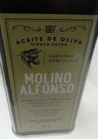 Aceite de oliva virgen extra Molino Alfonso - Product - es