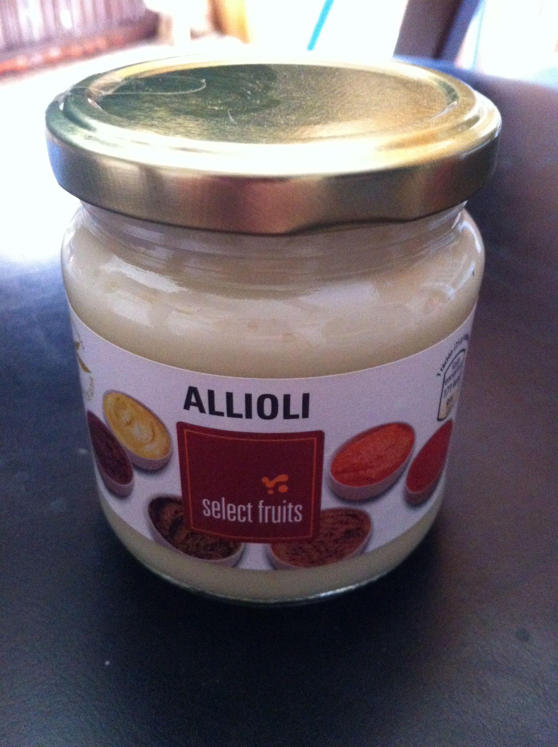 Allioli - Producto