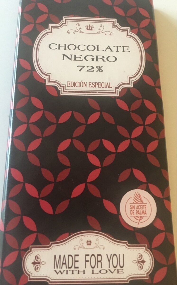 Chocolate negro 72% edición especial - Product