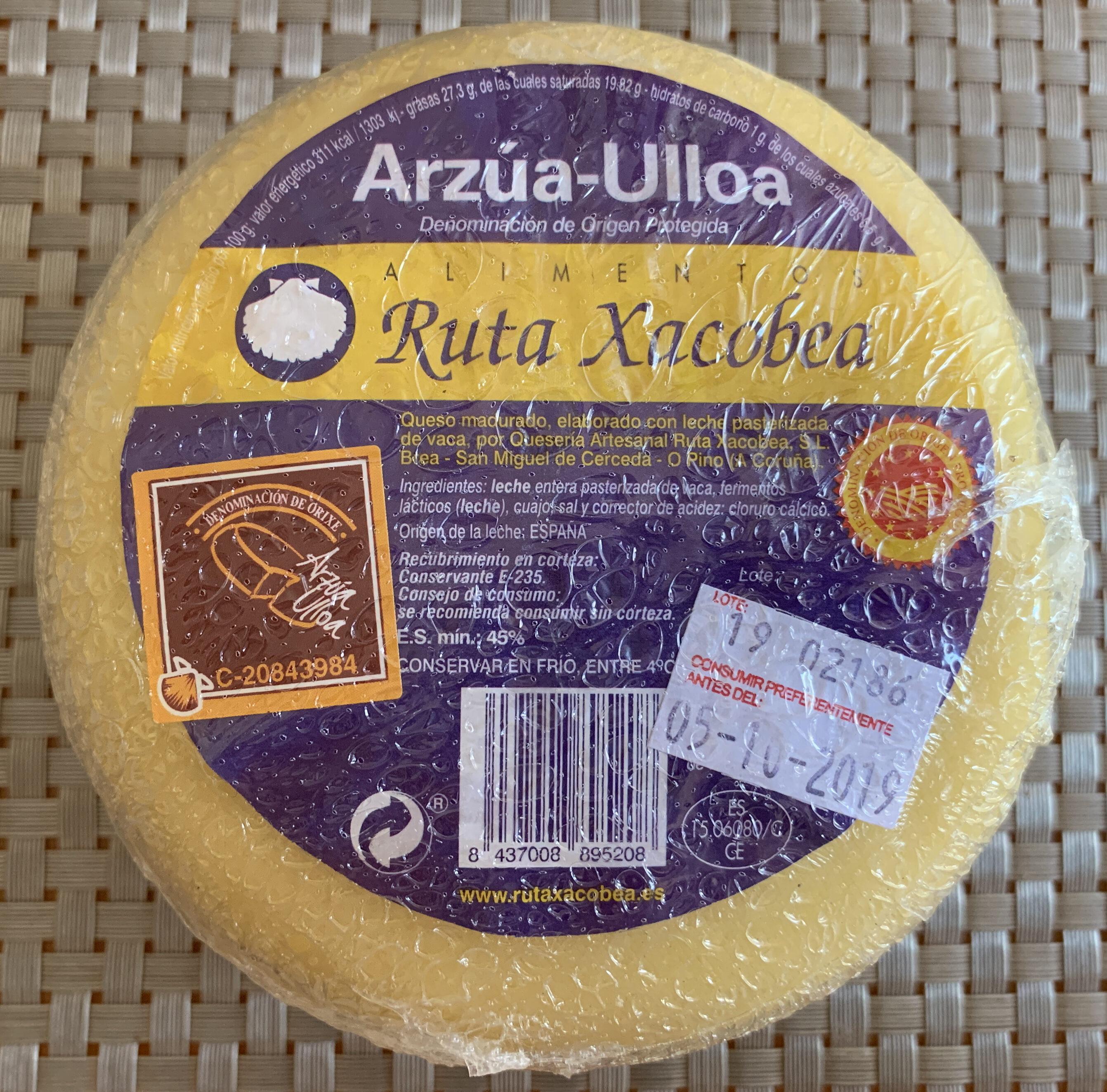 Queso gallego de vaca graso madurado elaborado - Product - es