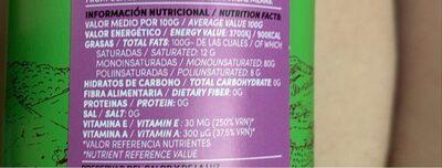 Aceite de oliva virgen extra - Voedingswaarden - fr