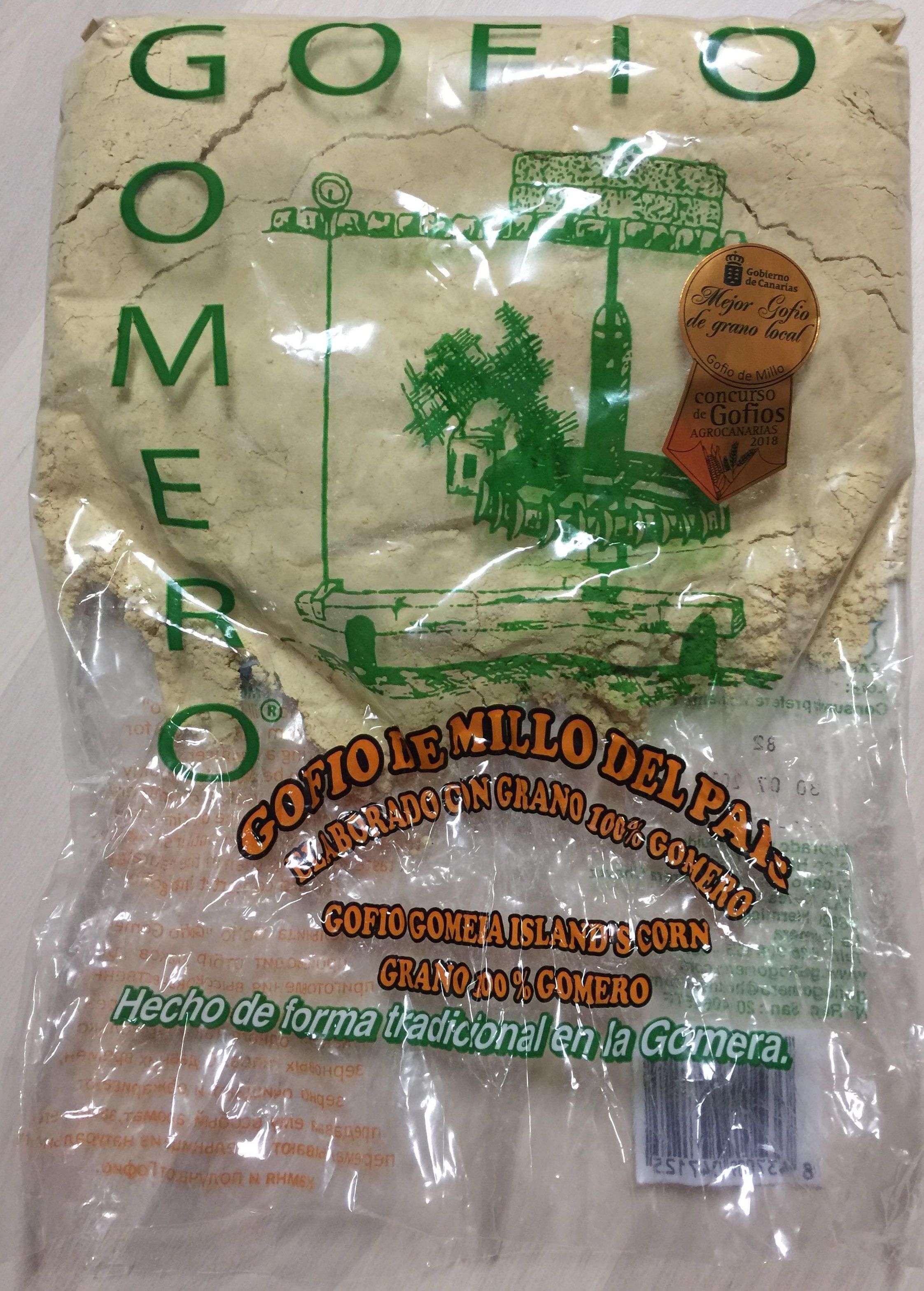 Gofio gomero millo del país - Producte