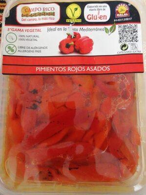 Pimientos rojos asados - Produit - es