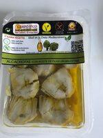 Alcachofas con aceite de oliva - Produit