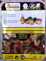 Patatas a lo pobre - Producto