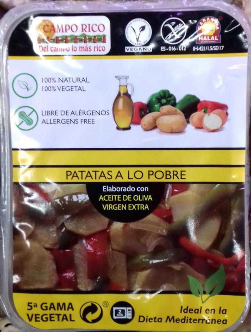 Patatas a lo pobre - Producte - es