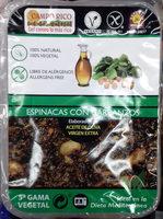 Espinacas con garbanzos - Producte - es
