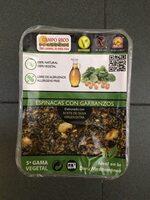 Espinacas con garbanzos - Produit
