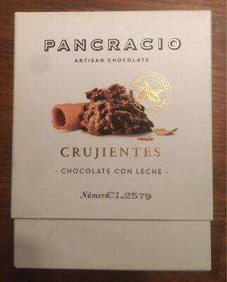 Crujientes chocolate con leche
