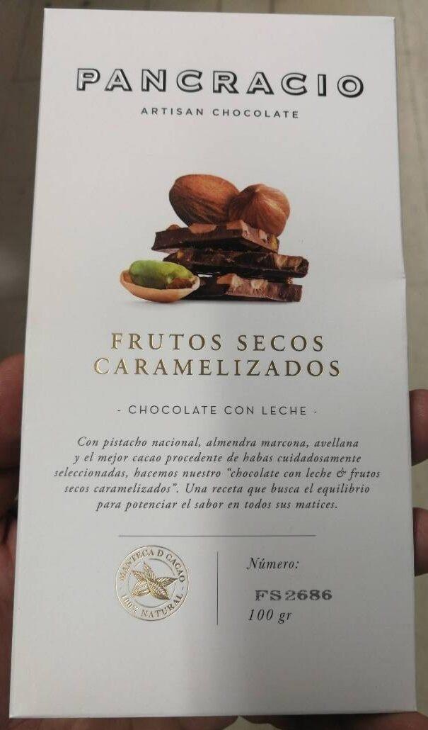 Chocolate con leche frutos secos - Product