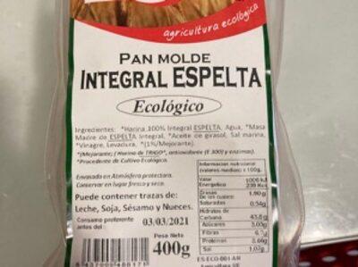 Pan de Espelta Integral - Produto