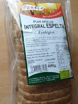 Pan de Espelta Integral - Ingredientes