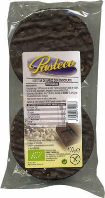 Tortitas de arroz con chocolate negro - Product