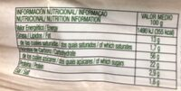 Muffins con trocitos de manzana - Informations nutritionnelles - fr