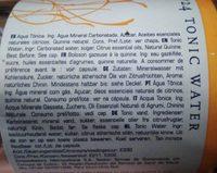1724 Tonic Water, 20 CL - Ingrediënten