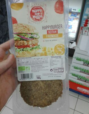 Happy Burger Seitan Fromage - Product - fr