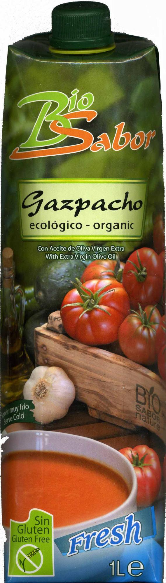 Gazpacho ecológico - Produit