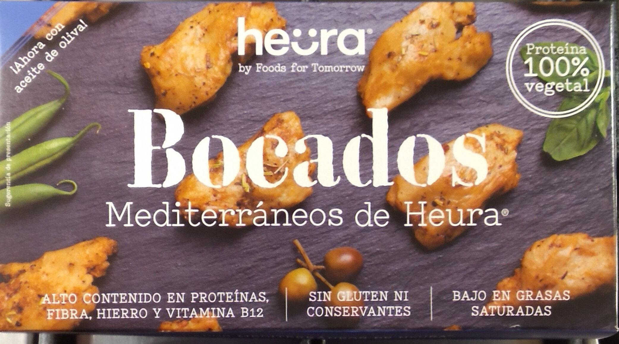 Heura Bocados Mediterraneos - Produit - es