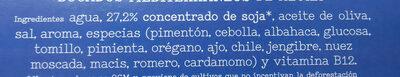 Heura Bocados Mediterraneos - Ingrédients - es