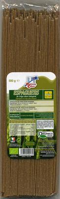 Espaguetis de trigo duro integral - Producto - es