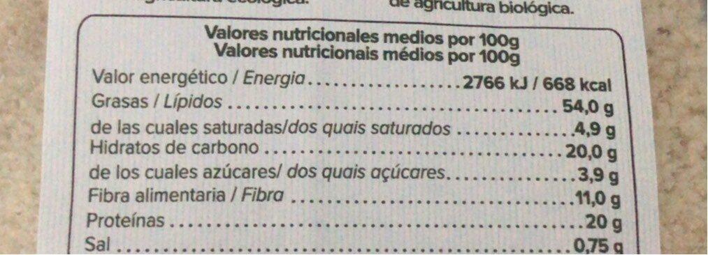 Harina almendras - Información nutricional - es