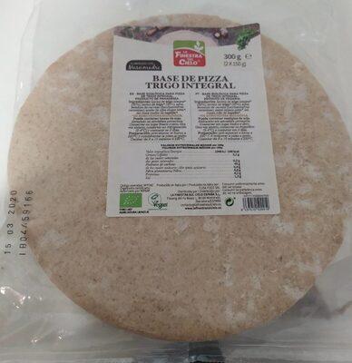 Base de Pizza Trigo Integral - Producto