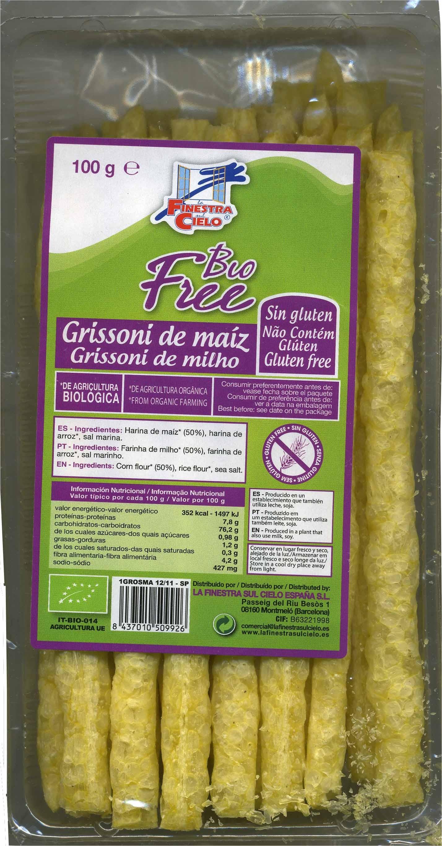 Grissoni maíz - Producto - es