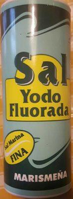 Sal Yodo Fluorada - Producto