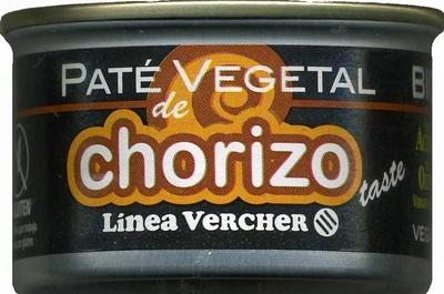 """Paté vegetal ecológico """"Línea Vercher"""" Chorizo - Product"""