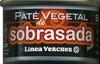 """Paté vegetal ecológico """"Línea Vercher"""" Sobrasada - Produit"""